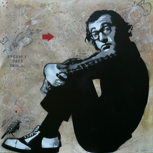woody allen stencil