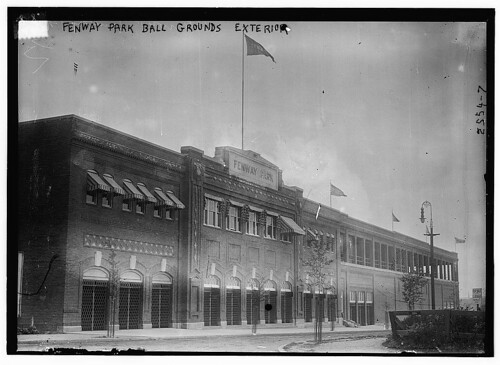 Fenway Park, sometime between 1910-1915