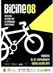 bicine08, festival de cine por la movilidad sostenible. Valencia (España)