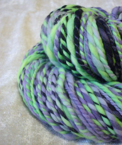 thriller- handspun yarn