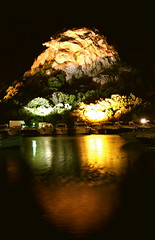 Navigammo nella notte... (Valentina_A) Tags: sardegna sea panorama music costa holiday color reflection love beach water rock night port canon dark landscape boats lights evening harbor boat rocks long exposure mare waves sardinia colore time yacht song barche romance porto luci roccia acqua effect reflexions navi riflessi tempo amore notte vacanza seconds sera onde buio esposizione fari arzachena colorati molto lungo porticciolo effetto smeralda expousure rilfesso tearsandrain poltuquatu 450d mywinners anawesomeshot aplusphoto sagirei 1855is rightinthenight