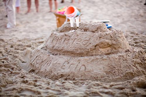 sandcastles..