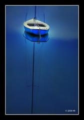 To lower the sails (Mariusz Petelicki) Tags: blue lake boat soe hdr dka jezioro 3xp singintheblues canon400d aplusphoto mariuszpetelicki grouptripod