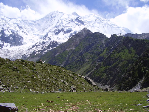 View of Rakaposhi from Tagaphari