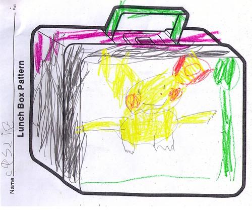 Cassies Pikachu Lunchbox