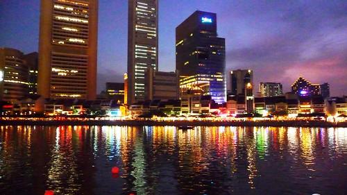 Singapore dusk