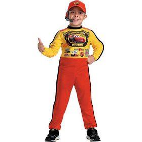 Lightning McQueen Pit Crew Costume
