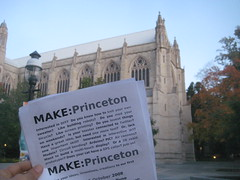 MAKE:Princeton coming soon