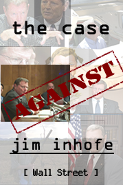 Image of The Case Against Jim Inhofe logo
