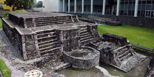 Templo calendárico en Tlatelolco