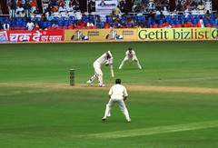Ganguly-straightdrive (snapper san) Tags: test india canon cricket match batting a710is indiaaustralia