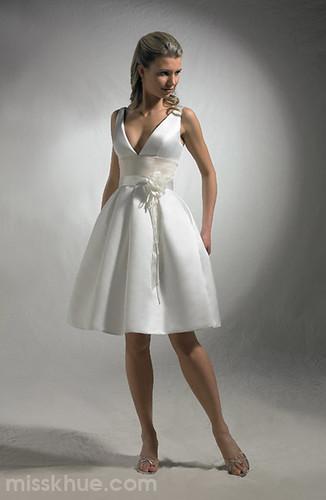 simple short wedding dresses