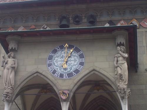 Bern town hall clock