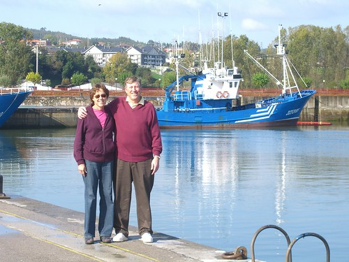 Paul and Betsy in Colindres