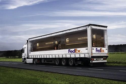 fedex bus