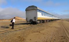 Lisa Catching Desert Express