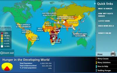 The World Hungermap - Click to view