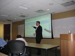 Brian Oliver at the NY Coherence SIG