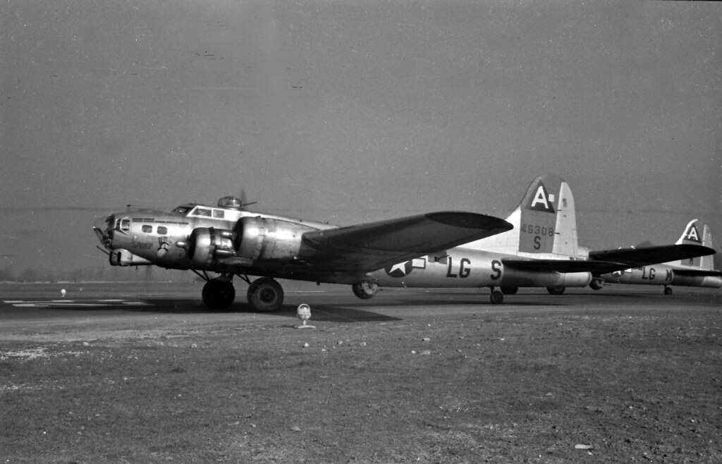 Skinky B-17 ww2Bassingbourne