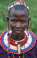 Donna Masai (daniele romagnoli) Tags: world africa road trip travel portrait people tanzania colours colore african 1993 tribes afrika tribe viaggi ritratto viaggio masai tribo ethnicity afrique tribu africano stamm tansania popoli  etnico tanzanya tanzanie africani etnia trib tribale  ethnique   tribali africaportrait colorphotoaward  tanzanija        top20travelpix