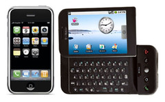 Apple iPhone and Google G1