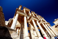 Library of Celsus at Ephesus (samuellebarron) Tags: turkey library ephesus libraryofcelsus