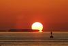 Floating Sun (Erico M.) Tags: sunset keys florida keywest sunsetcelebration lpfloating