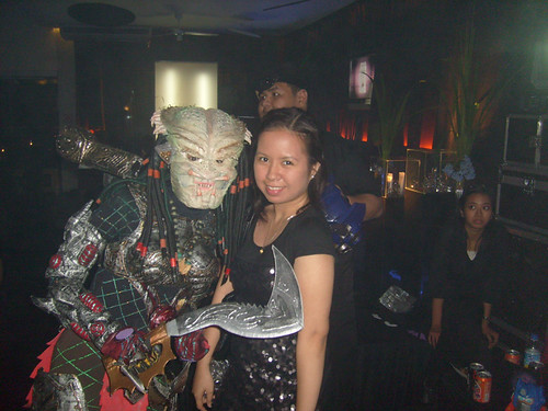 Miss lace and the predator girl