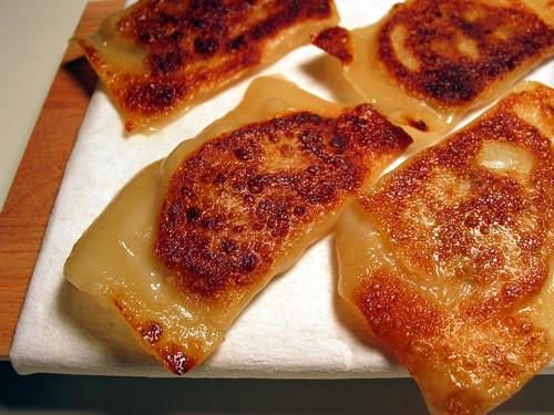 Homemade potstickers