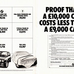 BMW E30 3-series 318i advert