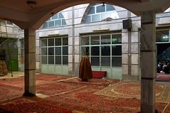 Solo Prayer (kamshots) Tags: street religious town persian iran muslim islam nazi prayer religion down mosque solo iranian tehran shohada shahid abad moslem rajaee seyed naazi