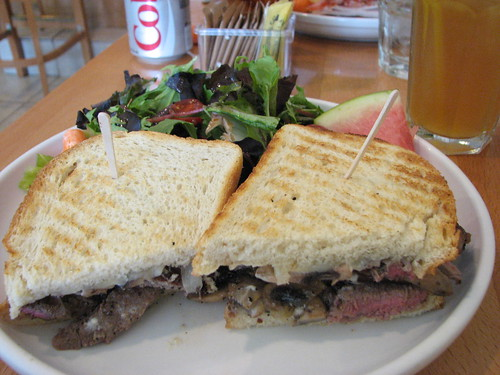Julie's Favorite Steak Sandwich