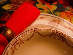 Birthday! Lovely Table III (prima seadiva) Tags: autumn orange vintage dish tan diner dishes tablesetting restaurantware tanbody restaurantchina