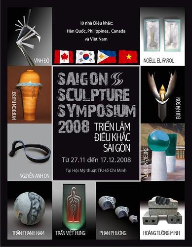 Thiep moi Mat truoc Saigon Sculpture Symposium by you.