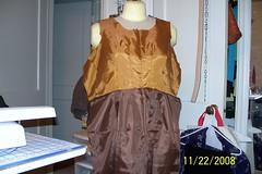 McCalls Dress Lining (Danvillegirl) Tags: dress 2008 lining mccalls