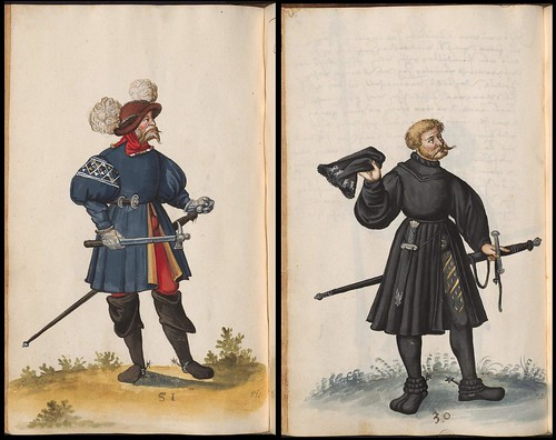 16th century period costumes