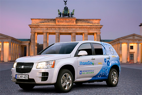 Opel presents Fuel Cell Vehicle Fleet with Business Partners in Berlin,car, sport car