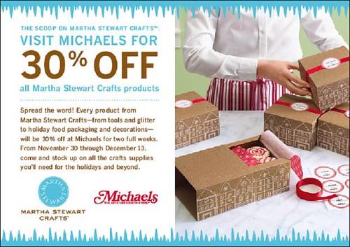 Martha Stewart Crafts on sale at Michaels