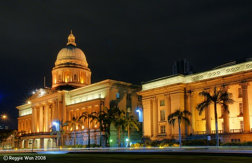 Singapore Supreme Court by Reggie Wan.