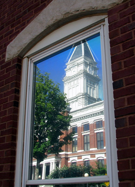 Montgomery Co. Courthouse reflection