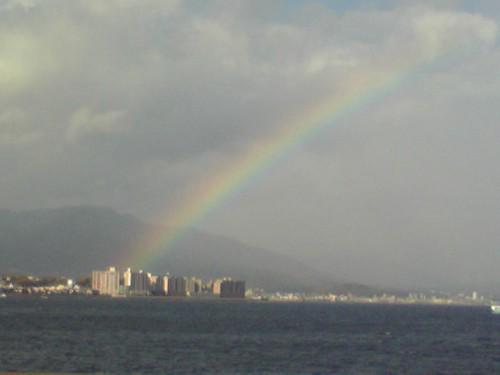 虹@JR宮島航路/Rainbow