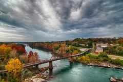 Tallassee Alabama (sunsurfr) Tags: bridge fall clouds river alabama tallassee fitzpatrick tallapoosa