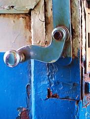 """Death Railway"" (ulli_p) Tags: door blue art vintage d50 thailand asia southeastasia colours nikond50 picturesque colourartaward unlimitedphotos spiritofphotography qualitypixels colorfullaward bestflickrphotography artofimages"