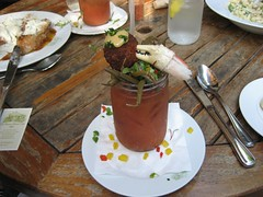 Bloody Mary at the Ramos House, San Juan Capistrano. (11/30/2008)