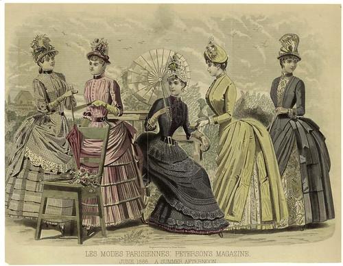 007-Les Modes parisiennes-Una tarde de Verano 1886