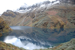 Oomta Lake on Snowman Trek
