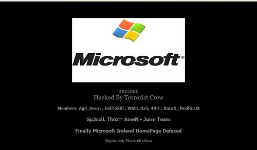 Microsoft Ireland Hacked