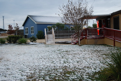 snow in south Texas