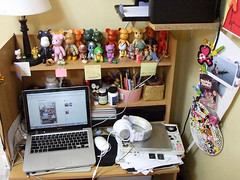 Messy Updated Workstation By Tuknene