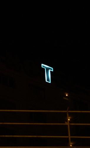 Clermont Ferrand, Hotel Kyriad sign